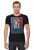 "Футболка Стрэйч (Мужская) ""Believe"" - lego, постер, believe, лего"