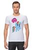 """Футболка Стрэйч (Мужская) """"my little pony girl"""" - my little pony, пони, для детей, детское"""