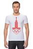 """Футболка Стрэйч (Мужская) """"Олимпиада 80"""" - москва, moscow, олимпиада, olympics, 1980, олимпиада 80"""