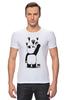 """Футболка Стрэйч """"Панда вандал"""" - wwf, панда, panda, животные"""