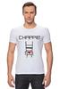 """Футболка Стрэйч (Мужская) """"Чаппи (Chappie)"""" - chappie, чаппи"""