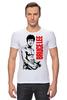 """Футболка Стрэйч (Мужская) """"Bruce Lee"""" - karate, bruce lee, fighter, карате, брюс ли"""