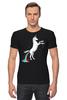 "Футболка Стрэйч ""Единорог"" - радуга, пони, абстракция, unicorn, единорог"