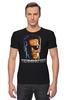 """Футболка Стрэйч (Мужская) """"Terminator"""" - кино, arnold schwarzenegger, терминатор, арнольд шварценеггер, the terminator"""