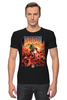 """Футболка Стрэйч """"Doom game"""" - арт, games, игры, игра, game, стиль, doom, парню, old school, шутер"""