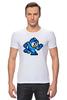 """Футболка Стрэйч (Мужская) """"Mega Man (8-bit)"""" - 8 bit, capcom, mega man"""