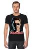 """Футболка Стрэйч """"Arnold Schwarzenegger"""" - terminator, кино, терминатор, арнольд шварценеггер, arnold schwarzenegger"""