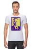 """Футболка Стрэйч (Мужская) """"Мой Путин"""" - россия, путин, президент, putin, кремль, мой путин"""