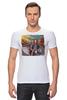 """Футболка Стрэйч """"Политический Юмор"""" - ленин, мотоцикл, сталин, красная площадь, мавзолей"""