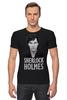 "Футболка Стрэйч (Мужская) ""Sherlock Holmes"" - sherlock, шерлок, ватсон, cumberbatch"