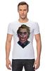 "Футболка Стрэйч (Мужская) ""Джокер"" - комикс, joker, джокер, супергерои, бэтмен"