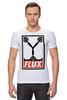 """Футболка Стрэйч """"Flux Capacitor (Назад в Будущее)"""" - назад в будущее, obey, back to the future, flux capacitor"""