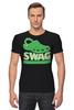 "Футболка Стрэйч (Мужская) ""Swag (Свэг)"" - swag, свэг"