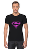 "Футболка Стрэйч ""SuperMan EMO sweatshirt"" - superman, pink, эмо, e-one, emotion"