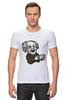 "Футболка Стрэйч (Мужская) ""Эйнштейн"" - арт, albert einstein, физика, эйнштейн, scientist"
