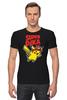 "Футболка Стрэйч (Мужская) ""SUPERPIKA"" - игры, аниме, пикачу, super mario, супер марио, pikachu"