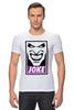 "Футболка Стрэйч ""Джокер (Joke)"" - joker, batman, джокер, бэтмен, obey"