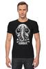 "Футболка Стрэйч (Мужская) ""Art Horror"" - skull, череп, слон, черепа и кости, elefant"