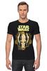 "Футболка Стрэйч (Мужская) ""star wars"" - star wars, dark side, звёздные войны, гривус"