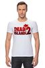 """Футболка Стрэйч (Мужская) """"Dead Island 2"""" - zombie, зомби, кровь, ужасы, dead island 2"""