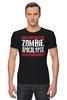 """Футболка Стрэйч (Мужская) """"Zombie Apocalypse"""" - zombie, зомби, апокалипсис, apocalypse"""