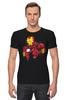 """Футболка Стрэйч (Мужская) """"Iron Man (Железный человек)"""" - marvel, марвел, железный человек, iron man"""