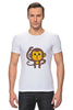 "Футболка Стрэйч ""Мартышка"" - мартышка, monkey, макака"