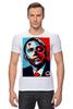 """Футболка Стрэйч (Мужская) """"Обама"""" - usa, обама, сша, президент, власть, obama"""