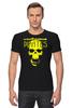 "Футболка Стрэйч (Мужская) ""PIRATES.Spirit of freedom !"" - skull, череп, свобода, пират, pirates"
