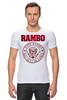 "Футболка Стрэйч ""Rambo"" - rocky, сильвестр сталлоне, rambo, sylvester stallone, рокки бальбоа"