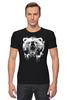 """Футболка Стрэйч """"Медвежий оскал"""" - bear, медведь, оскал"""