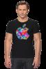"""Футболка Стрэйч """"Apple"""" - футболка, популярные, мужская, прикольные, в подарок, футболка мужская"""