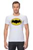 "Футболка Стрэйч (Мужская) ""бэтмен"" - batman, бэтмен, dc, dc комиксы"