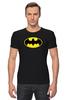 """Футболка Стрэйч """"Футболка Batman"""" - бэтмен"""