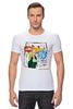 """Футболка Стрэйч (Мужская) """"Warhol - Basquiat"""" - энди уорхол, andy warhol, basquiat, баския"""