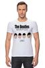 "Футболка Стрэйч (Мужская) ""The Beatles 1963 "" - rock, england, великолепная четвёрка"