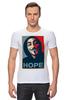 """Футболка Стрэйч (Мужская) """"Anonimus (Obey)"""" - anonymous, аноним, hope, надежда"""