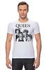 "Футболка Стрэйч (Мужская) ""Queen group"" - queen, фредди меркьюри, freddie mercury, куин, rock music"