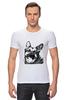 "Футболка Стрэйч ""Овчарка"" - dog, собака, пёс, german shepherd, немецкая овчарка"