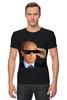 """Футболка Стрэйч (Мужская) """"Pixel Putin"""" - король, pixel, путин, putin, пиксели"""