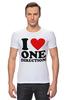 "Футболка Стрэйч (Мужская) ""One Direction"" - one direction"