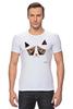 """Футболка Стрэйч (Мужская) """"Сердитый котик / Grumpy Cat (Art Nouveau)"""" - кот, котэ, grumpy, grumpy cat, сердитый кот, унылый кот, грампи, грумпи"""