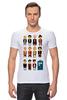 """Футболка Стрэйч (Мужская) """"Доктор Кто (Doctor Who)"""" - doctor who, tardis, доктор кто, тардис"""