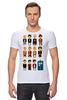 """Футболка Стрэйч (Мужская) """"Доктор Кто (Doctor Who)"""" - doctor who, tardis, доктор кто, тардис, time lord"""
