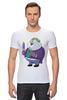 "Футболка Стрэйч (Мужская) ""Fat Joker"" - joker, джокер, обжорство"