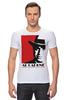 "Футболка Стрэйч ""Аль Капоне (Al Capone)"" - mafia, мафия, al capone, chicago, аль капоне, чикаго, 1920's"