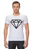 "Футболка Стрэйч (Мужская) ""Стерео Бриллиант"" - style, подарок, swag, стерео, бриллиант, diamond"