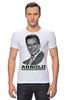 """Футболка Стрэйч (Мужская) """"Arnold Schwarzenegger"""" - кино, arnold schwarzenegger, терминатор, terminator, арнольд шварценеггер"""