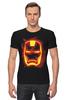 """Футболка Стрэйч (Мужская) """"Железный человек"""" - комиксы, супергерой, marvel, марвел, железный человек, iron man"""