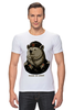 """Футболка Стрэйч """"made in USSR"""" - bear, ссср, медведь, россия, russia, патриотические футболки, арт медведь, russian bear, made in ussr"""